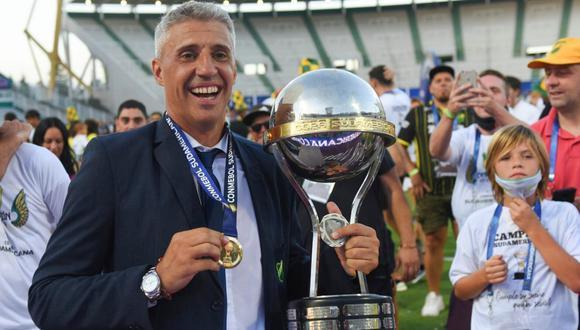 Hernán Crespo es el nuevo entrenador de Sao Paulo (Foto: AFP)