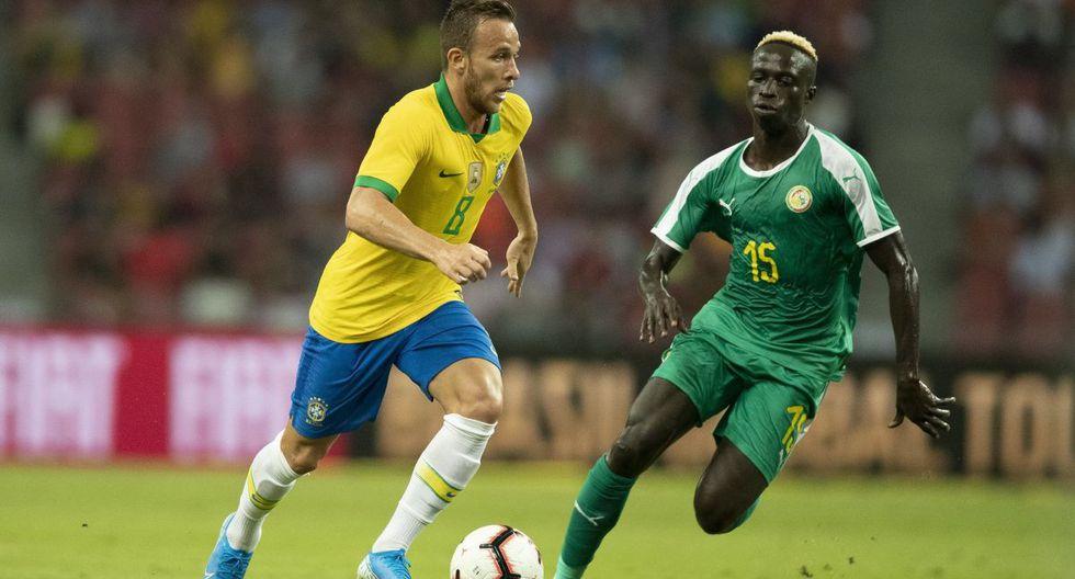 Con Neymar, Brasil igualó 1-1 Senegal en amistoso por fecha FIFA ¡Golazo de Firmino!