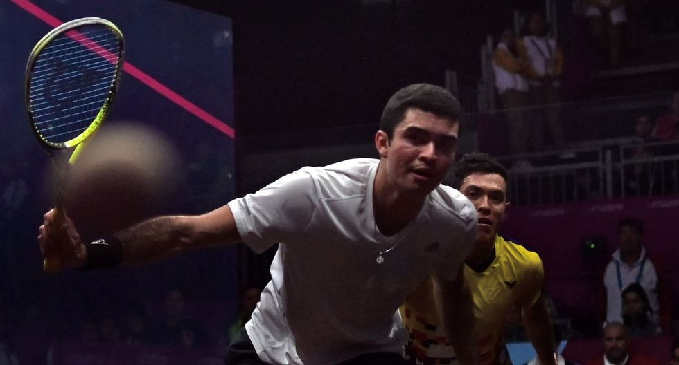 Diego Elías ganó medalla de oro en squash por los Panamericanos 2019