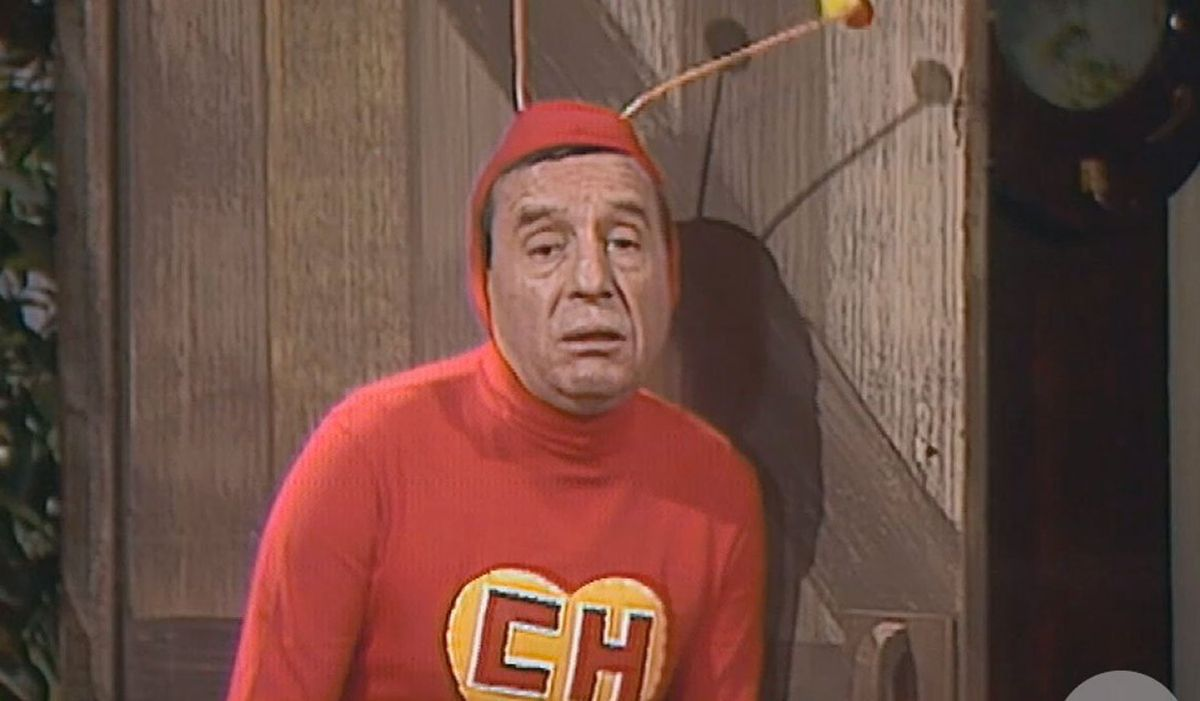 """Aunque """"El Chapulín Colorado"""" tuvo gran acogida, llegando a convertirse en uno de los programas cómicos más importantes de América Latina, la serie llegó a su fin después de siete temporadas (Foto: Televisa)"""