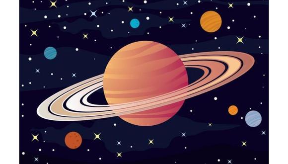En 1610, el astrónomo italiano Galileo Galilei observó los anillos de Saturno gracias a su telescopio.