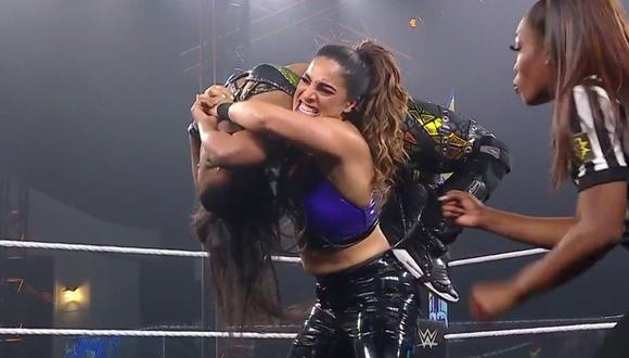 La luchadora de raíces latinas Raquel González sigue reinando en NXT. (WWE)