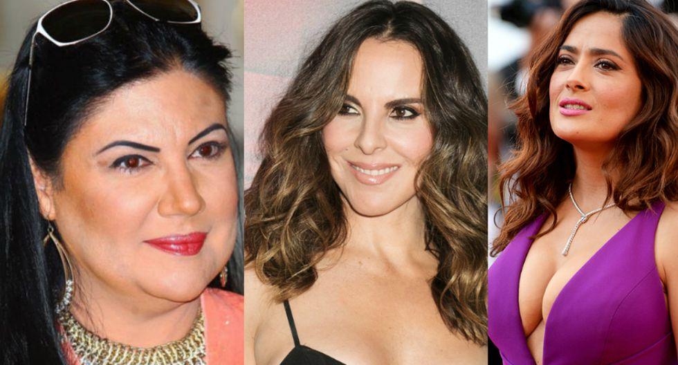 Alejandra Ávalos, Kate del Castillo y Salma Hayek.