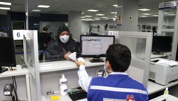 La entrega del DNI se realizan bajo los protocolos para evitar el contagio del COVID-19.