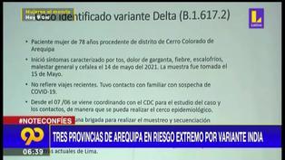Arequipa: tres provincias volverán a riesgo extremo desde el lunes 14