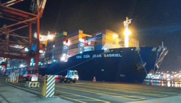 Cargamento de cocaína iba a ser traslado en este barco con destino a Francia.