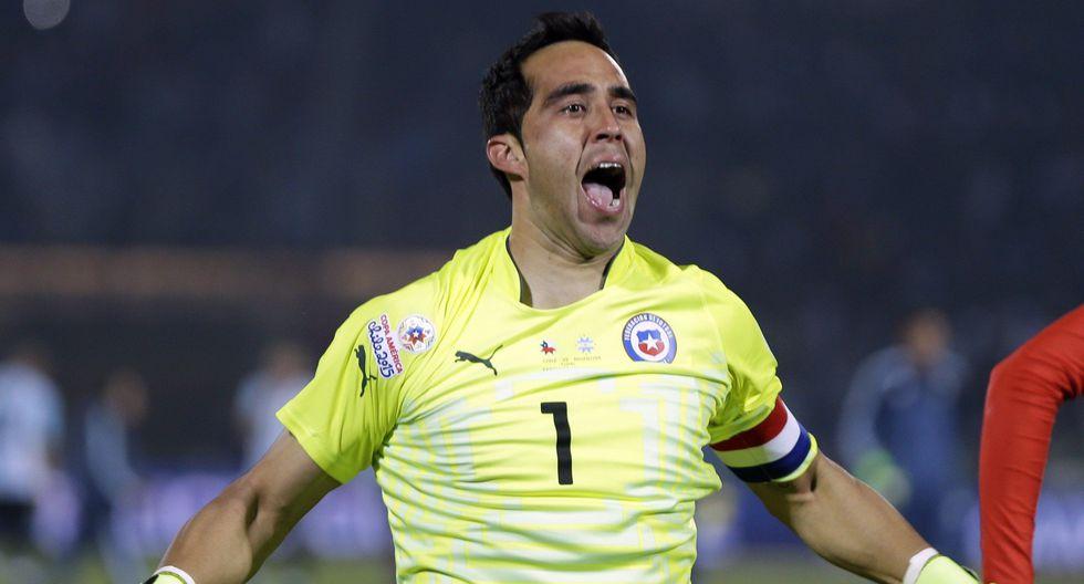 Claudio Bravo - Chile (Foto: AP).