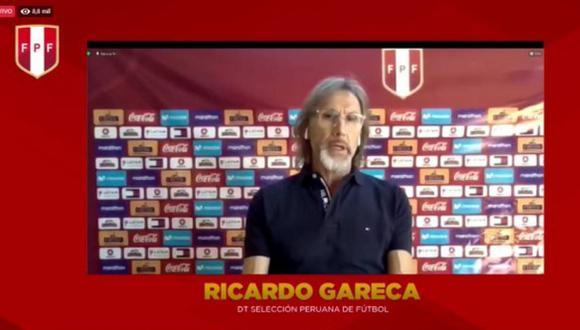Ricardo Gareca descarto su renuncia desde Argentina (captura)