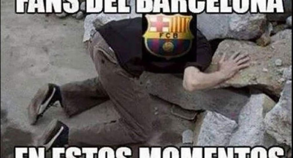 Los mejores memes del Barcelona vs. Valencia que circulan en Facebook y redes sociales.