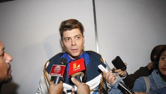Ignacio Baladán está asado con Ducelia Echevarría porque dijo que no es 'pintón' y su look es huachafo. (Foto: GEC)
