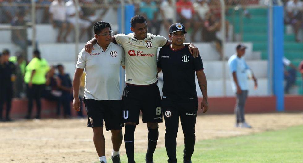 Nelinho Quina salió lesionado. (Foto: Fernando Sangama)