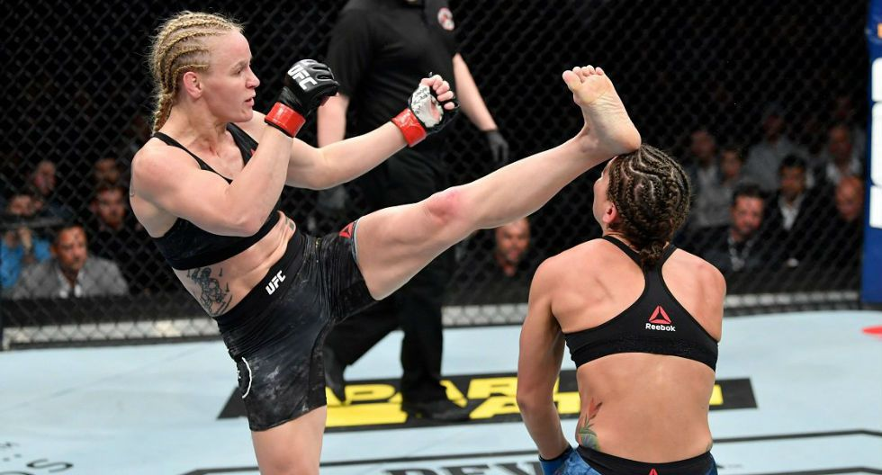 8) Valentina Shevchenko no podía faltar en nuestra lista. Dos defensas del título en dos peleas. (Fotos: UFC /Agencias)