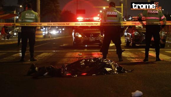 La policía informó que delincuentes abrieron fuego contra ellos. (Francisco Neyra)