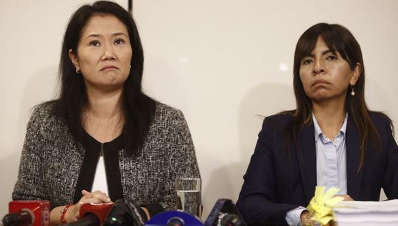 0047188975Giulliana Loza presentó apelación a prisión preventiva de Keiko Fujimori | TROME