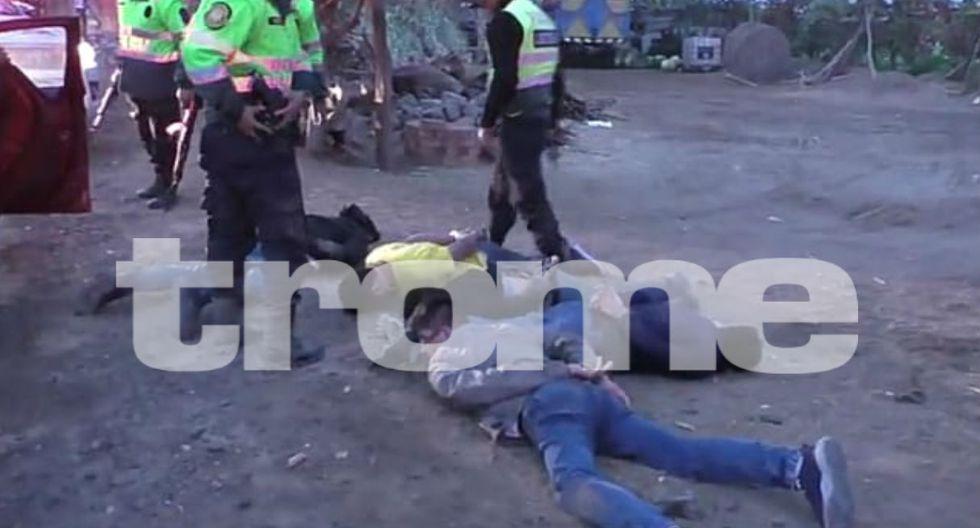 Delincuentes habían fugado del penal de Pucchun, en Camaná.