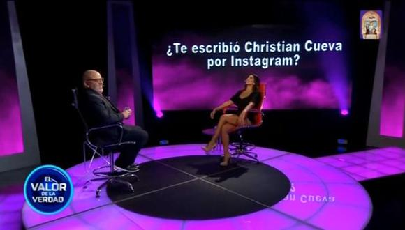 Vania Bludau habló sobre Christian Cueva. (Latina)