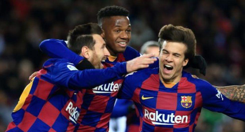 Lionel Messi le dio la victoria a Barcelona