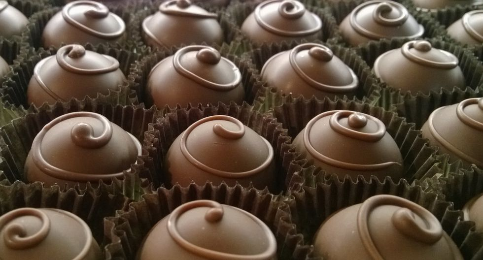 ¡Chocolate! Mejor lee siempre la etiqueta.