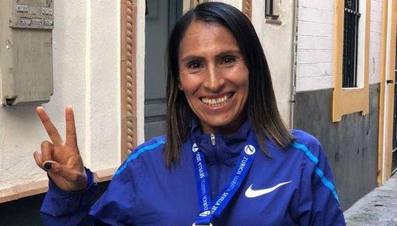 Gladys Tejeda aseguró su presencia en los Juegos Olimpicos Tokio 2020. (Foto: Gladys Tejeda / Facebook)