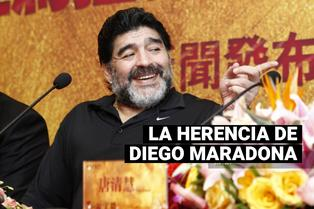 Maradona y su herencia: hijos del 10 podrían compartir los bienes
