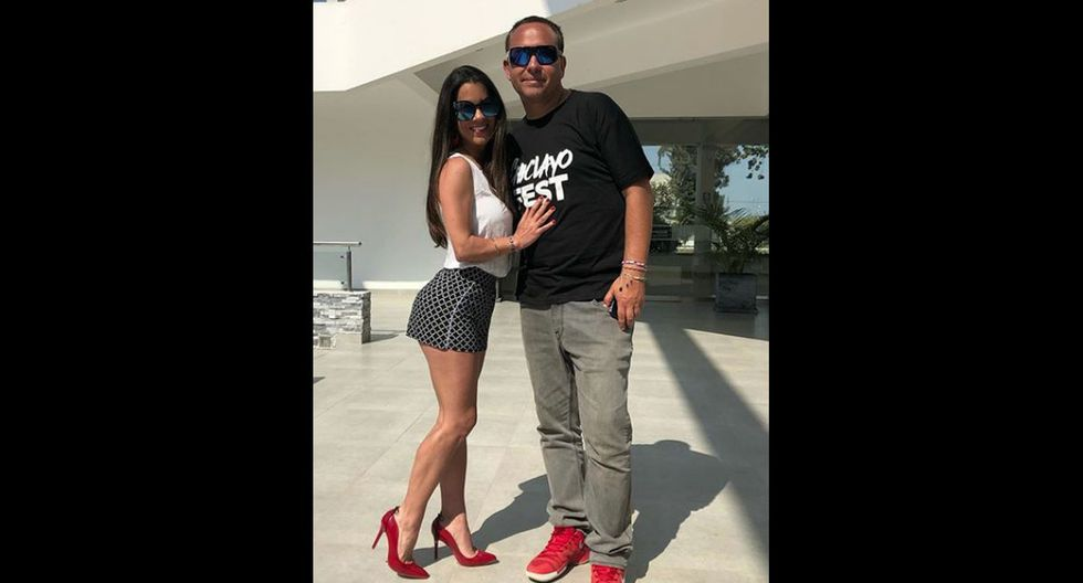 Vanessa Terkes y Roberto Martínez