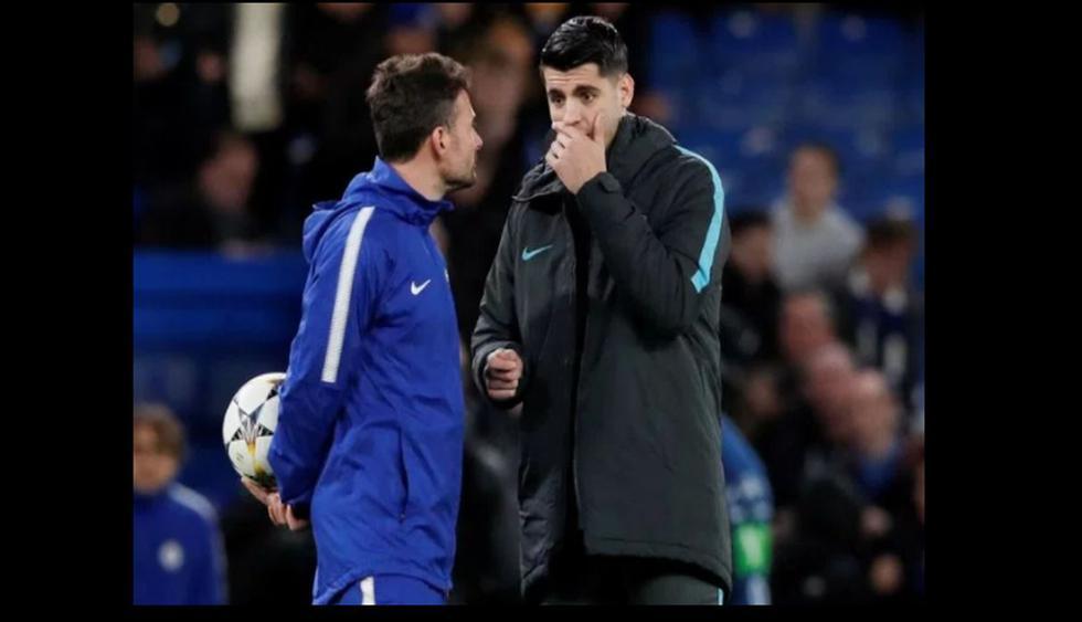 Morata se enfadó cuando se enteró que sería suplente en el Barcelona vs Chelsea.