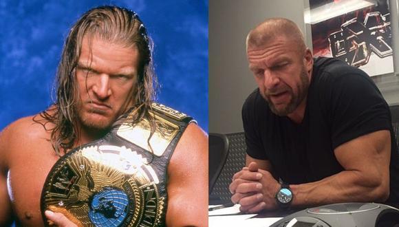 Superestrella y ahora directivo de WWE Paul Levesque, Triple H', fue hospitalizado. (Instagram)