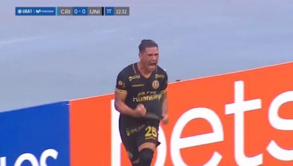 Gol de Jonathan Dos Santos en Universitario vs Sporting Cristal por Fase 2