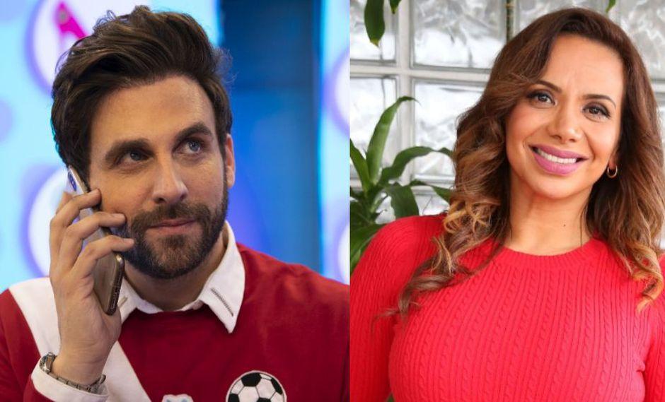Rodrigo González y Mónica Cabrejos