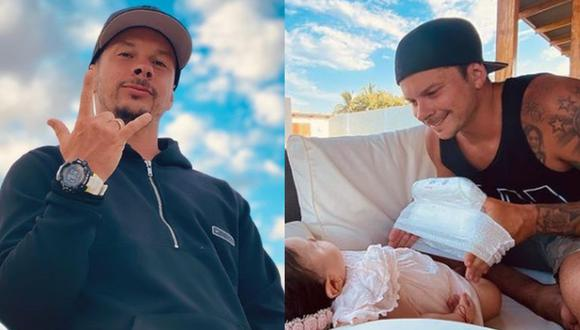 Mario Hart amenaza a usuaria que insulta y deforma fotos de su hijita
