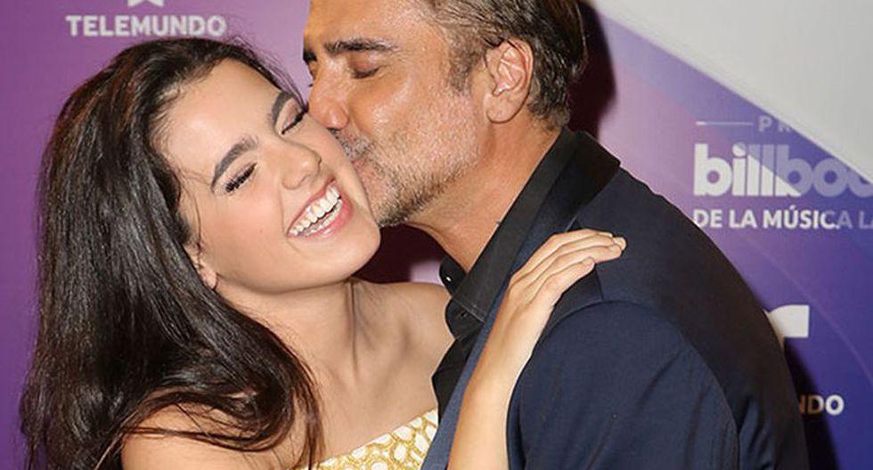 Camila, la hija de Alejandro Fernández.