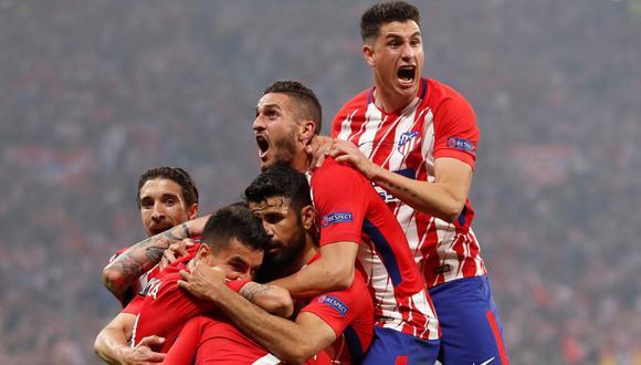 Griezmann anotó en la final de la Euro League