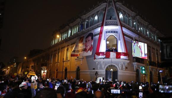 Simpatizante de Perú Libre habló sobre el próximo gobierno de Pedro Castillo. (GEC)