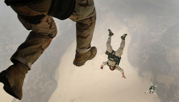 El paracaidista participaba de un ejercicio conjunto entre militares estadounidenses y británicos. (Foto referencial - Pexels)