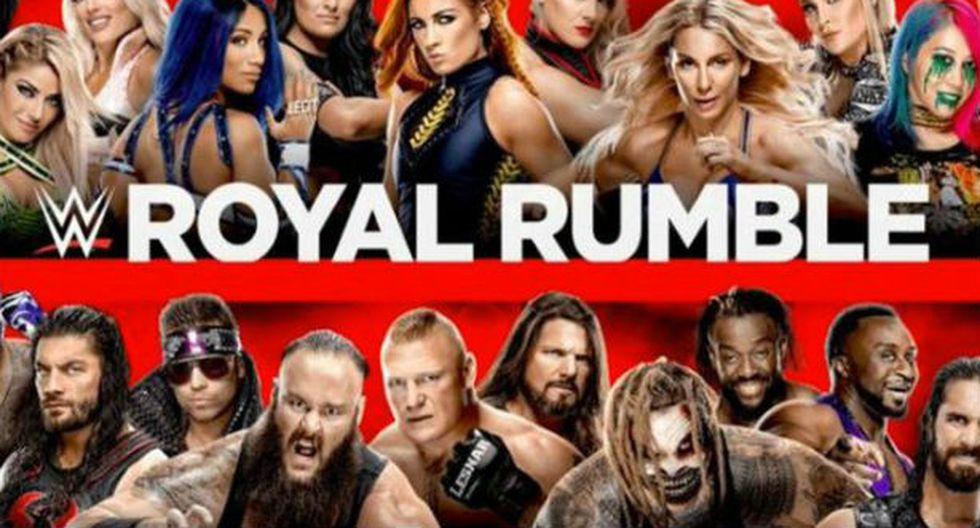 No te puedes perder el gran Royal Rumble. (WWE)