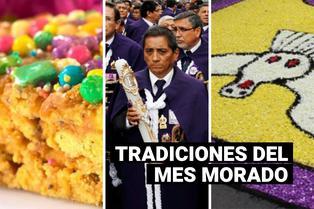 Señor de los Milagros: ¿Qué costumbres hay durante la celebración del Mes Morado?