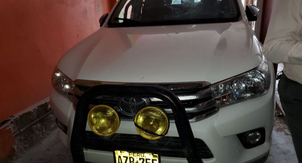Uno de los vehículos recuperados había sido robado este miércoles. (Policía Nacional del Perú)
