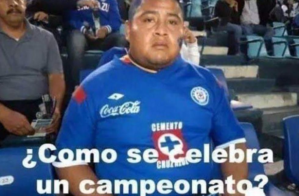 Memes de Cruz Azul campeón