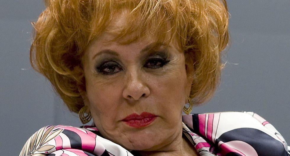 Silvia Pinal: Televisa y sus hijos niegan que haya estado hospitalizada de emergencia (Foto: AFP)