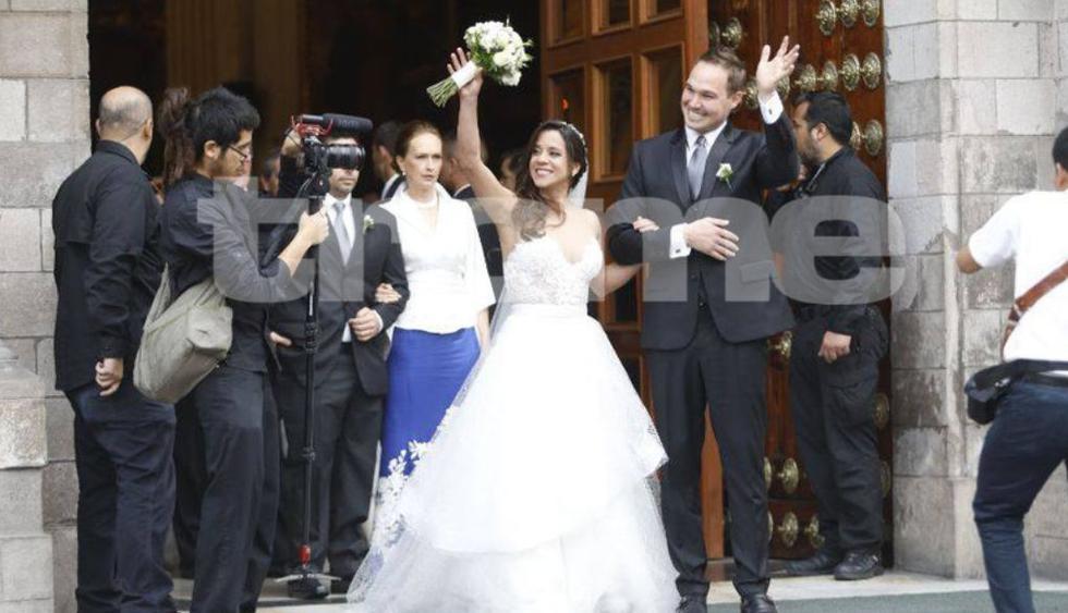 Vanessa Terkes y George Forsyth: Los detalles que no se vieron de su boda de cuento de hadas