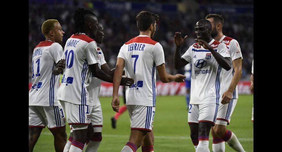 Olympique Lyon (Francia). (Foto: AFP)