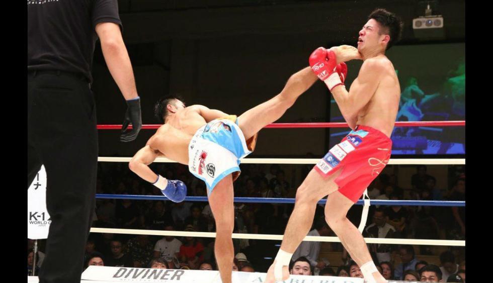 (Fotos redes sociales K-1Japan Group)