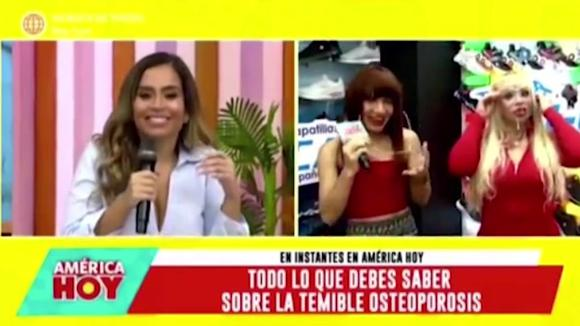 'La Uchulú' y Susy Díaz juntas