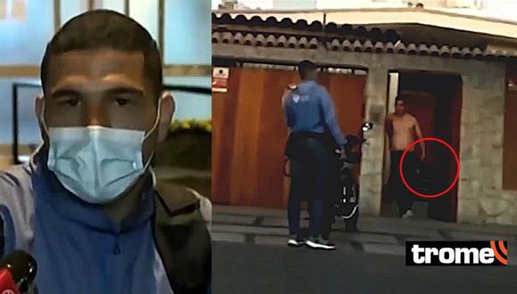 San Isidro: Repartidor denuncia que fue a dejar un pedido y un hombre lo atacó con arma de fuego