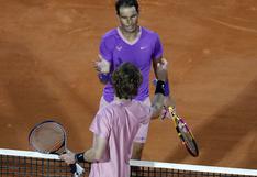 Masters de Montecarlo: Andrey Rublev da la sorpresa y  elimina a Rafael Nadal