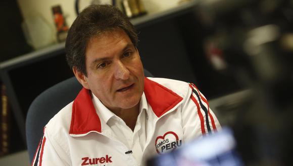 Juan Carlos Zurek renunció a Somos Perú. (Foto: GEC)