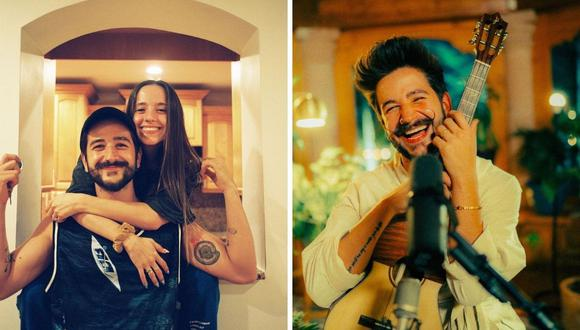 """Evaluna y Camilo rendirán homenaje a """"Machu Picchu"""" en su nueva canción. (Foto: Instagram / @evaluna / @camilo)."""