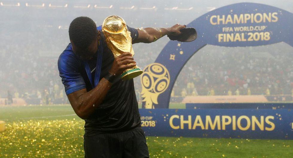 Francia campeón del Mundo en Rusia 2018