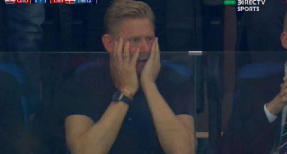Croacia vs Dinamarca: Reacción del padre de Modric