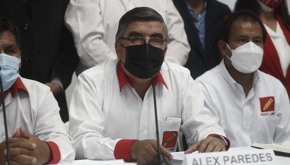 Alex Paredes, congresista electo de Perú Libre. (Foto: César Campos / @photo.gec)